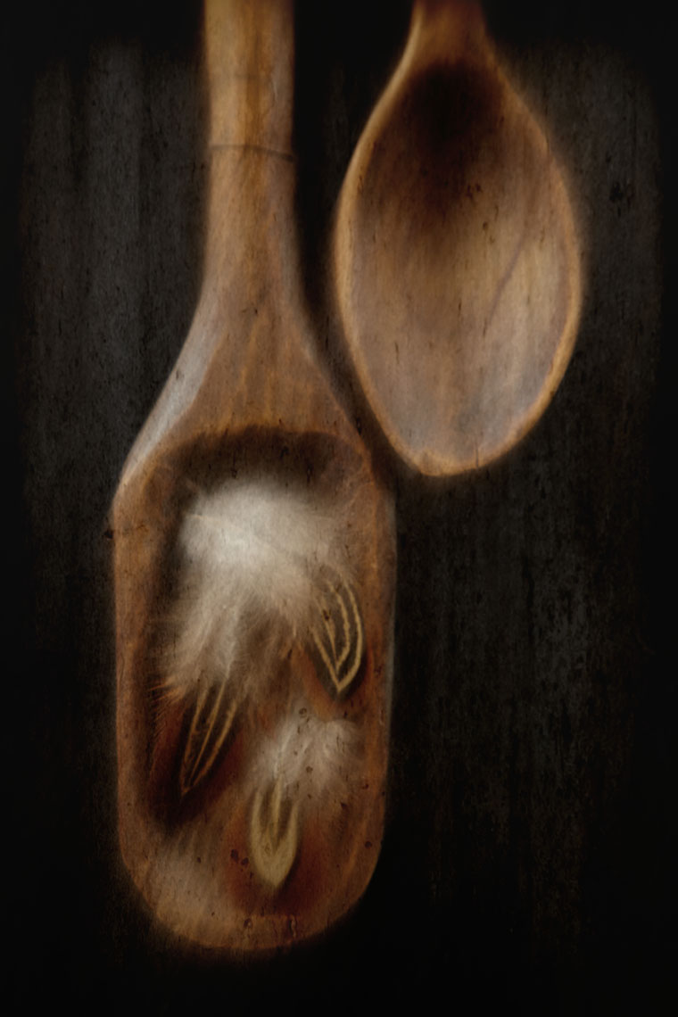 tauras_bublys_spoons_feathers